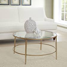 coffee table amazing acrylic coffee table round glass and metal