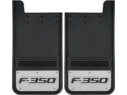 Vintage Ford Truck Mud Flaps - 1999 2016 ford f350 logo gatorback mud flap set gb1223cutf350