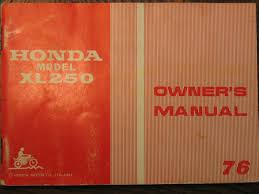 the honda xl 250k3