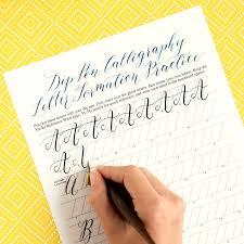 calligraphy worksheet worksheets