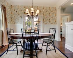 Wainscoting Dining Room Design U0026 Decorating Farmhouse Fat Wainscoting In Dining Room