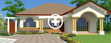 Single Family Home Designs Architecture House Plan House Designs Ghana House Plans