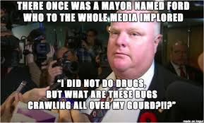 Crack Cocaine Meme - fuck rob ford