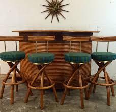 Bamboo Bar Top Furniture Romantic Bamboo Bar Stools Bring Amusing Design