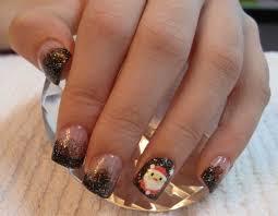 creative christmas nail designs