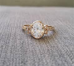 filigree engagement rings antique diamond e f moissanite engagement ring yellow gold