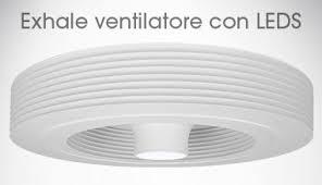 ventilatori da soffitto senza luce ventilatore da soffitto senza pale ventilatore exhale europe