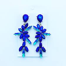 laurie náušnice modré bizuteriazuzana sk