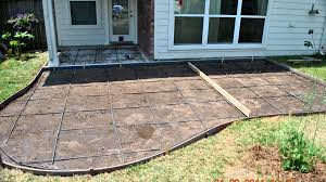 Building Patios by Decorative Concrete Patios And Patio Extensions Youtube
