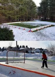 ez ice transforms your backyard into an ice rink in 60 minutes
