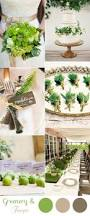 10 greenery wedding colors inspired by pantone color of 2017