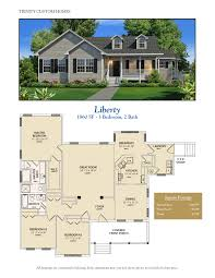 One Story Floor Plans With Bonus Room by Floor Plans Trinity Custom Homes Georgia