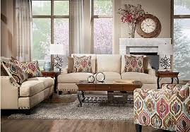 Shop For A Cindy Crawford Sidney Road Taupe Pc Classic Living - Living room sets rooms to go