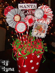 deck the holiday u0027s diy christmas paper centerpiece