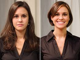 hairstyle makeovers before and after ideas about long to short haircut makeovers cute hairstyles for
