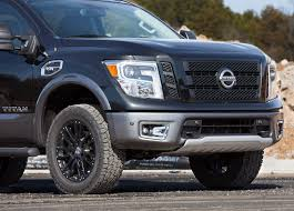 nissan titan off road bumper nissan shows off modified titan pro 4x in chicago motor trend