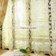 Noble Curtains Bedroom Or Living Room Light Yellow Curtains