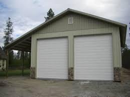 garage door spokane shop pole barn building doors overhead