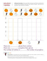 free halloween themed worksheets to help your child learn