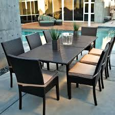 Wicker Patio Dining Chairs Patio Ideas Providence 8 Person Resin Wicker Patio Dining Set