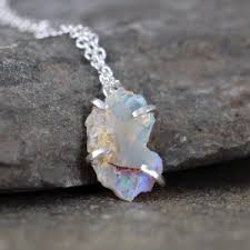 opal stone silver necklace images Opal necklaces beadage jpg