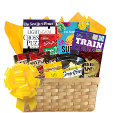 gift baskets nyc puzzle books gift basket of entertainment