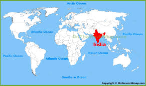 India Maps by India World Map My Blog