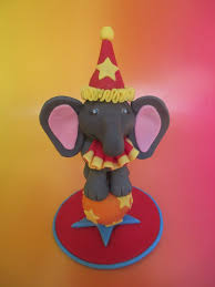 circus cake toppers circus elephant cake topper dolce ladybug