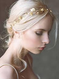 gold leaf headband yean wedding hair vine headband gold leaf crown tiara
