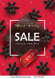 black friday christmas card deals happy boy jumping holiday digital illustration stock illustration