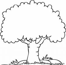 Tree Color Page Click The State Coloring Pages With Throughout Tree Coloring Pages
