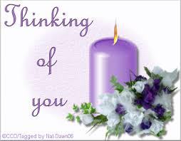 thinking of you flowers yuku webset thinking of you animated candle in purple with flowers