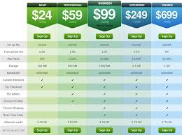 tabellen design design pricing tables