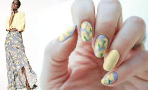 fashion nails zac posen iris spring summer nail art seasonails