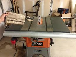 ridgid 13 10 in professional table saw review newbie searching borgs for ts by jacobgerlach
