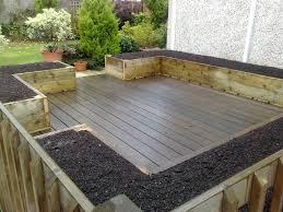 patio ideas wood patio tiles lowes delightful backyard floor