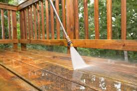 how to properly sand a wood deck with a deck sander