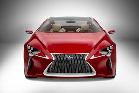 lexus lf lc blue lexus lf lc sports coupe concept new pictures