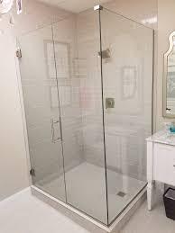 Agalite Shower Doors by Showers Doors U0026 Frameless Corner Hinged Shower