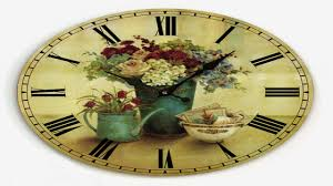 cool country kitchen wall clock 3 country apple basket kitchen