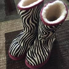 ugg zebra boots sale 67 ugg shoes zebra limited edition uggs from mellissa s