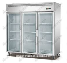 three glass doors refrigerator three glass doors refrigerator