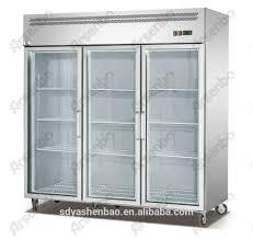 three glass doors refrigerator three glass doors refrigerator