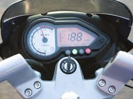 ferrari speedometer top speed autoworld bajaj pulsar 180 dts i