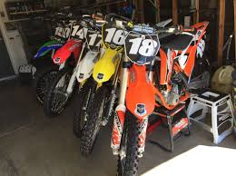 250 motocross bikes at the epicenter of the socal off road industry with jay clark