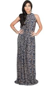 summer maxi dresses elvina print sleeveless summer maxi dress