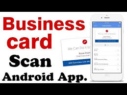 App To Scan Business Cards Scanning Business Cards Into Your Android Phone Best Android