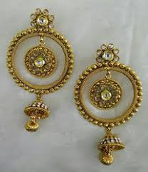 design of earrings small design earrings at rs 510 pair anand bhuvan mumbai id