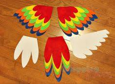 Halloween Costumes Parrots Tutorial Sew Easy Parrot Costume Perfect Halloween