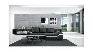 choix canapé canape canape design noir et blanc canapac selene angle au choix